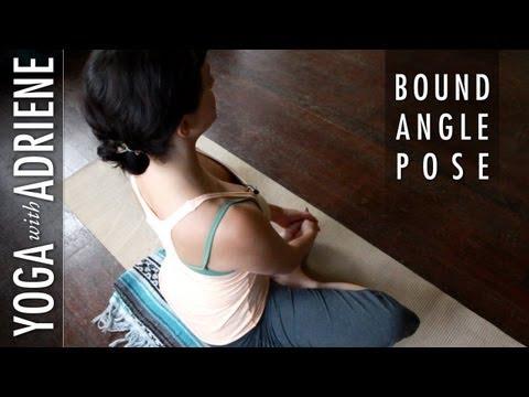 Bound Angle Pose - Yoga With Adriene