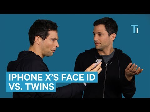 We Put The iPhone X's Face ID To Test With Twins