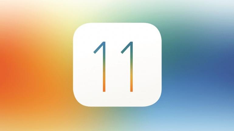 ios 11 logo colored