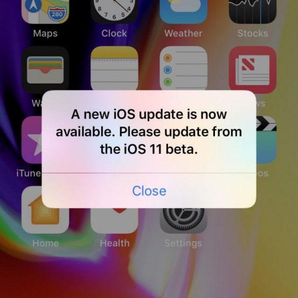ios 11.2 beta 1 strange bug