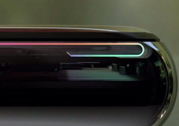 iPhone X foldable display