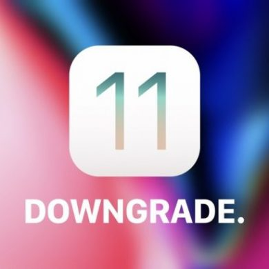 iOS 11 Downgrade