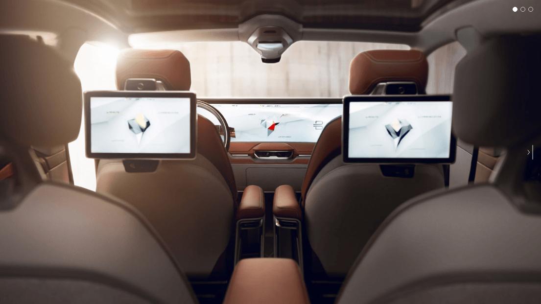 CES- Byton Concept EV Interior