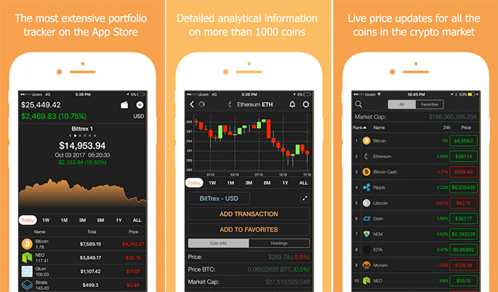 Best cryptocurrency price app iphone