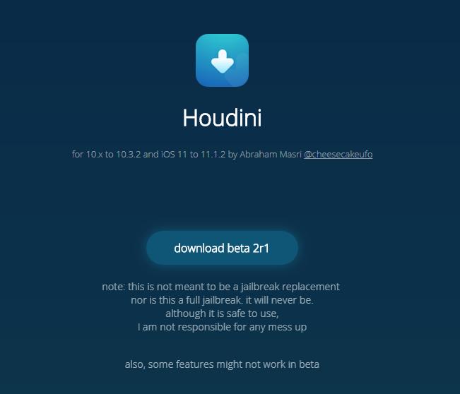 Houdini jailbreak