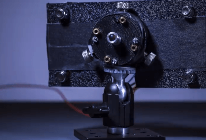 Laser charger emitter system