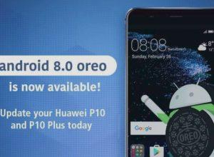 huawei oreo 8.0 update
