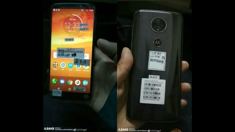 Moto E5 Plus leaked images: Pricing, specifications, release date etc