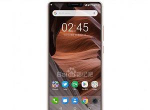 Nokia X6 notch