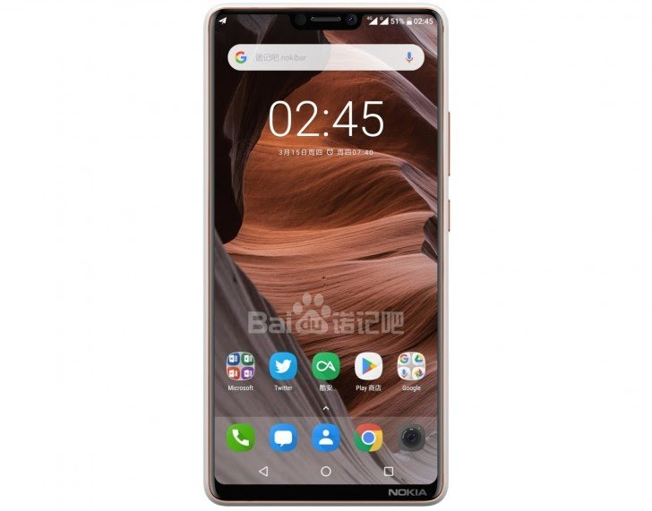 Nokia X6 notch
