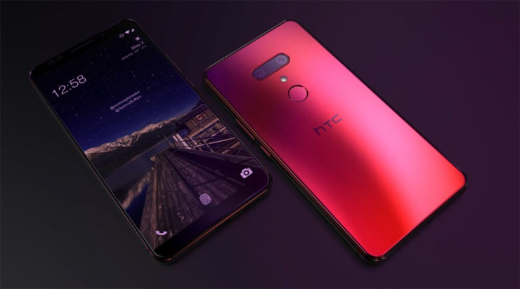 HTC U12 Plus renders 5 1