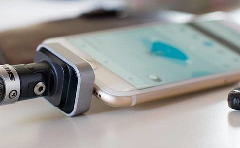 Shure MV88 iOS supported microphone