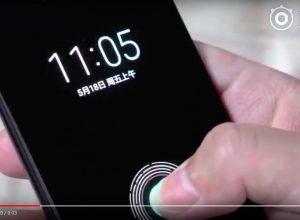 Mi 8 in display fingerprint sensor. embedded fingerprint sensor xiomi mi 8