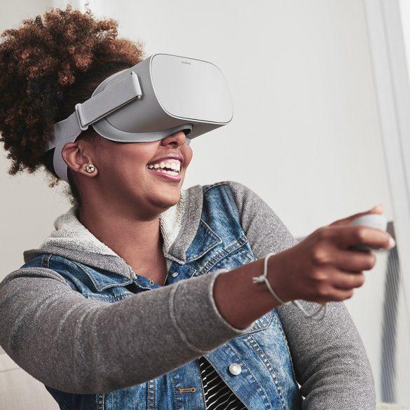 oculus go wearing