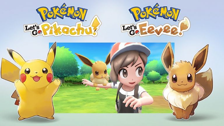 Pokemon Let's Go Pikachu and Let's Go Eevee Detailed