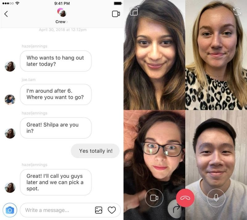 Instagram new features from the F8 Conference