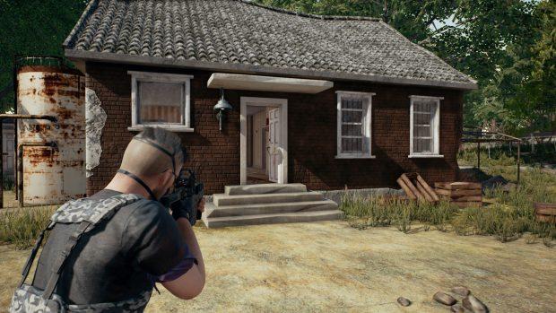 PUBG House door