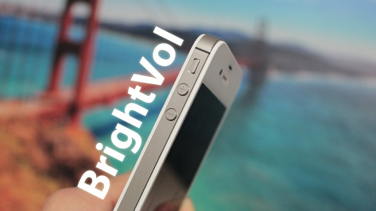 Best Cydia Tweaks: Brightvol