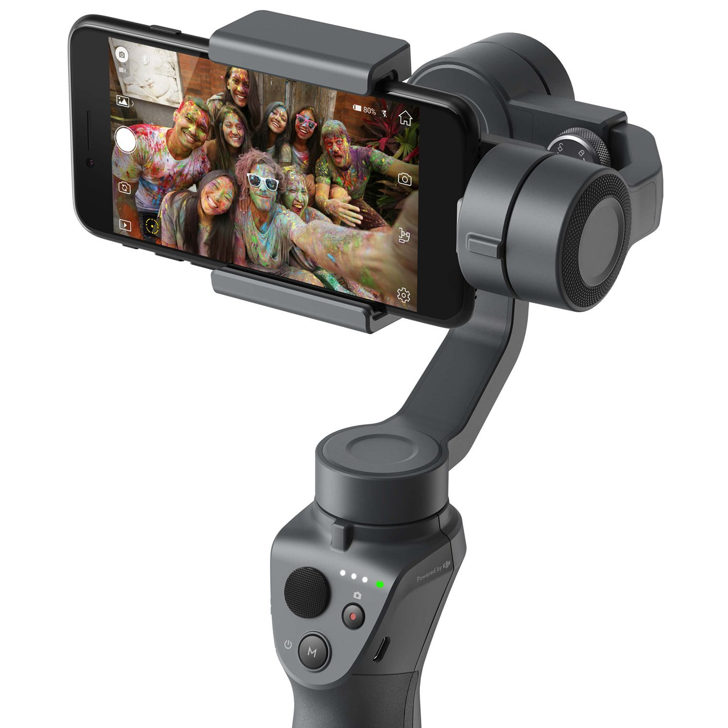 Best iPhone camera accessories- DJI Osmo Mobile 2
