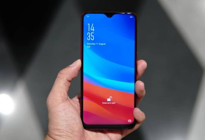 Oppo F9 Real Life Hands On Photo