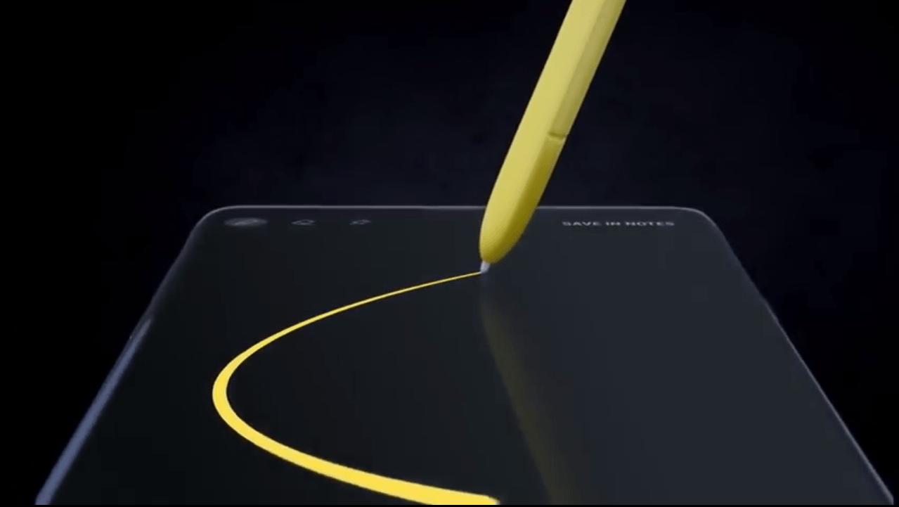 Samsung Galaxy Note 9 video leak