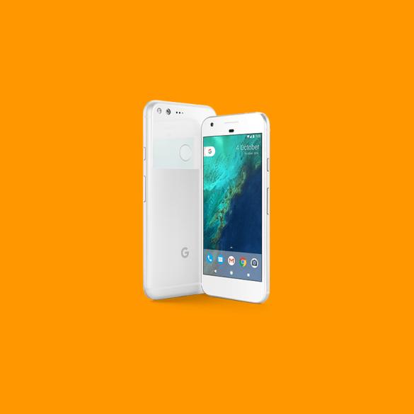 White Pixel Feature Image Orange