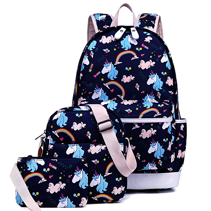 Blue Ladies bag for back to school
