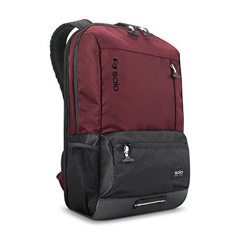 Solo burgundy backpack