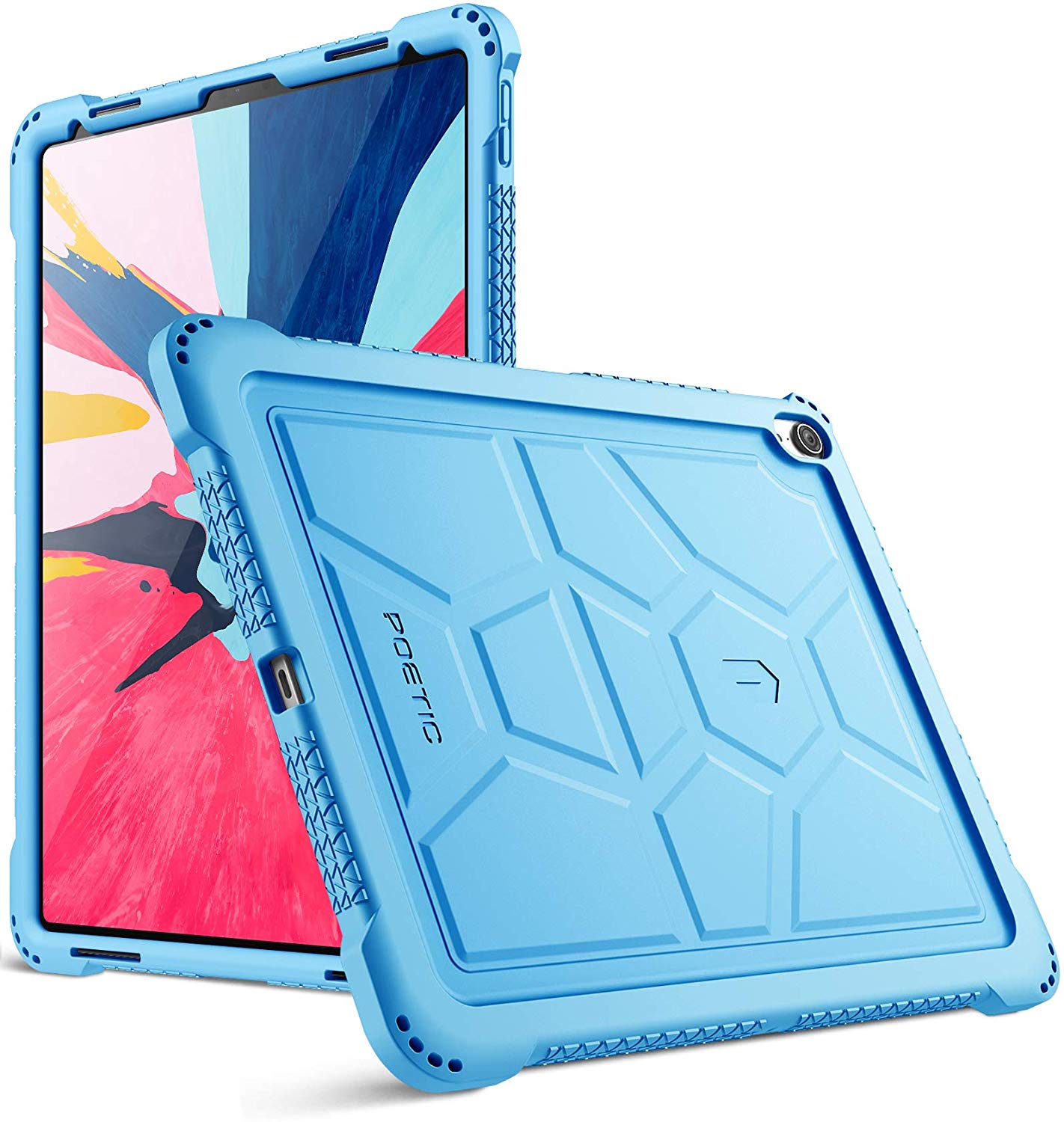 Colorful rugged case for iPad Pro 2018