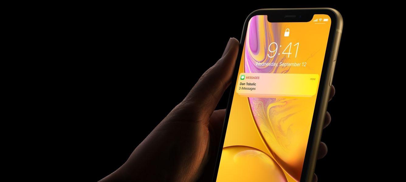 iPhone XR FaceID