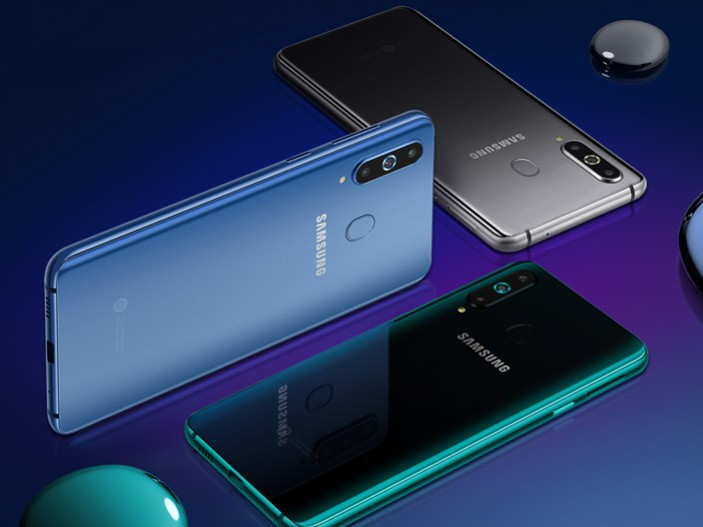 samsung galaxy a8s back render