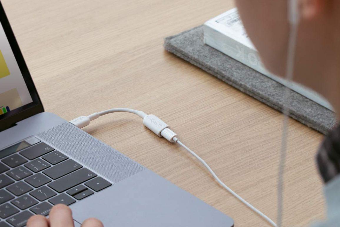 Anker USB-C to Lightning adapter