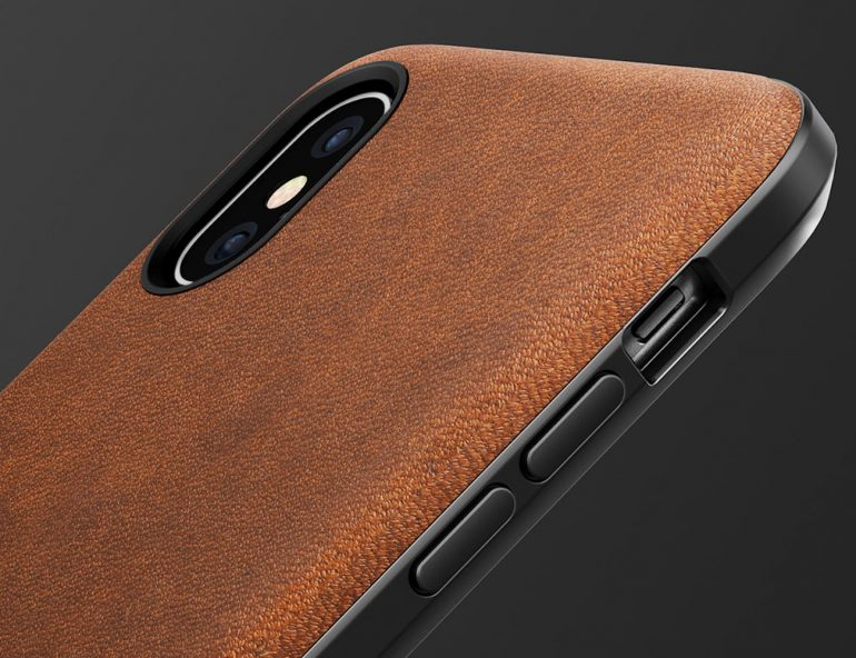 Nomad Rugged Leather iPhone X Case 002