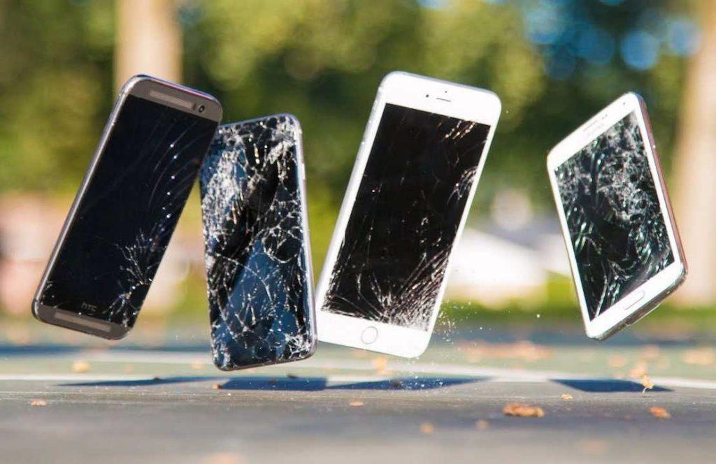broken phones