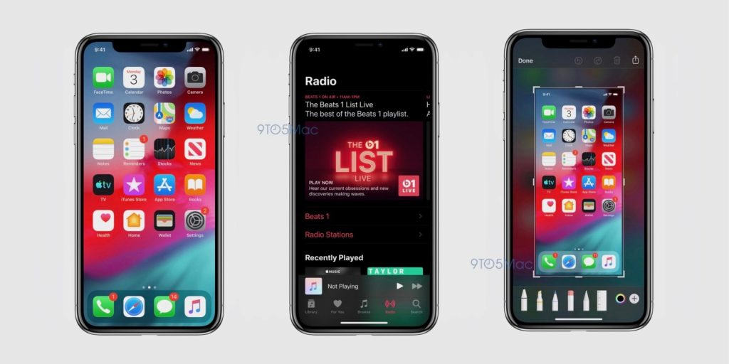 iOS 13 Screenshot Leaks