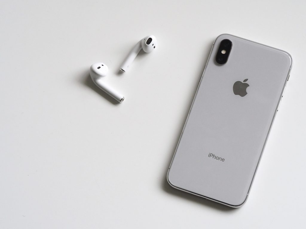 iPhone X beauty of design.