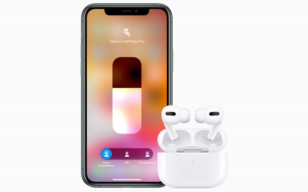Active Noise Cancellation on the AirPods Pro
