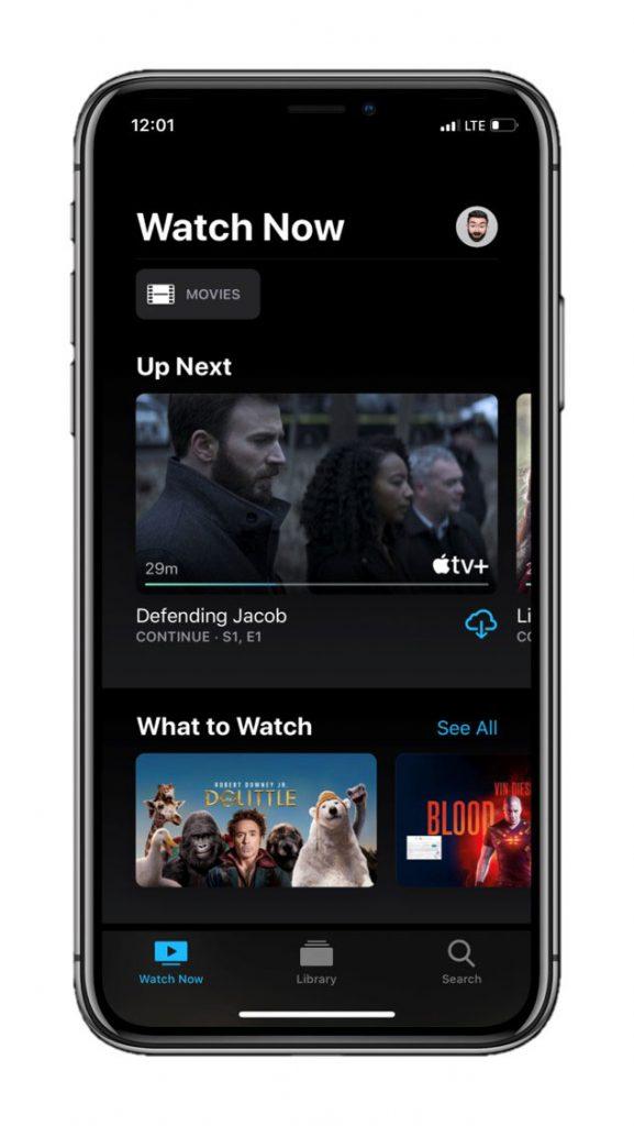 Apple TV+ on iPhone