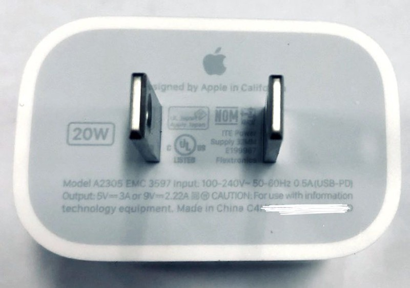 20 watt power adapter iphone 12 mr white e1592995737788
