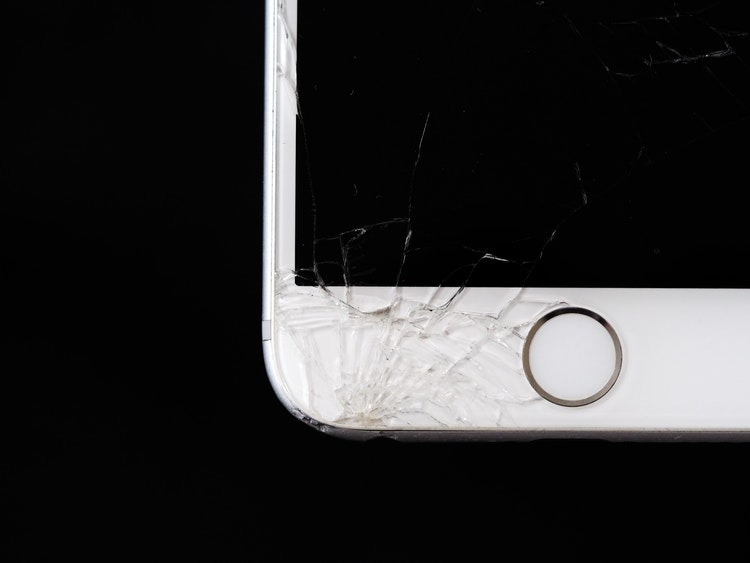 Broken iPhone. The most common reason to learn how to backup your iPhone.