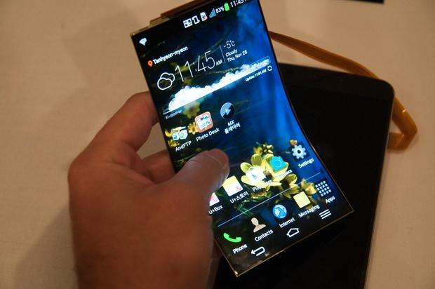 Flexible OLED screen by LG