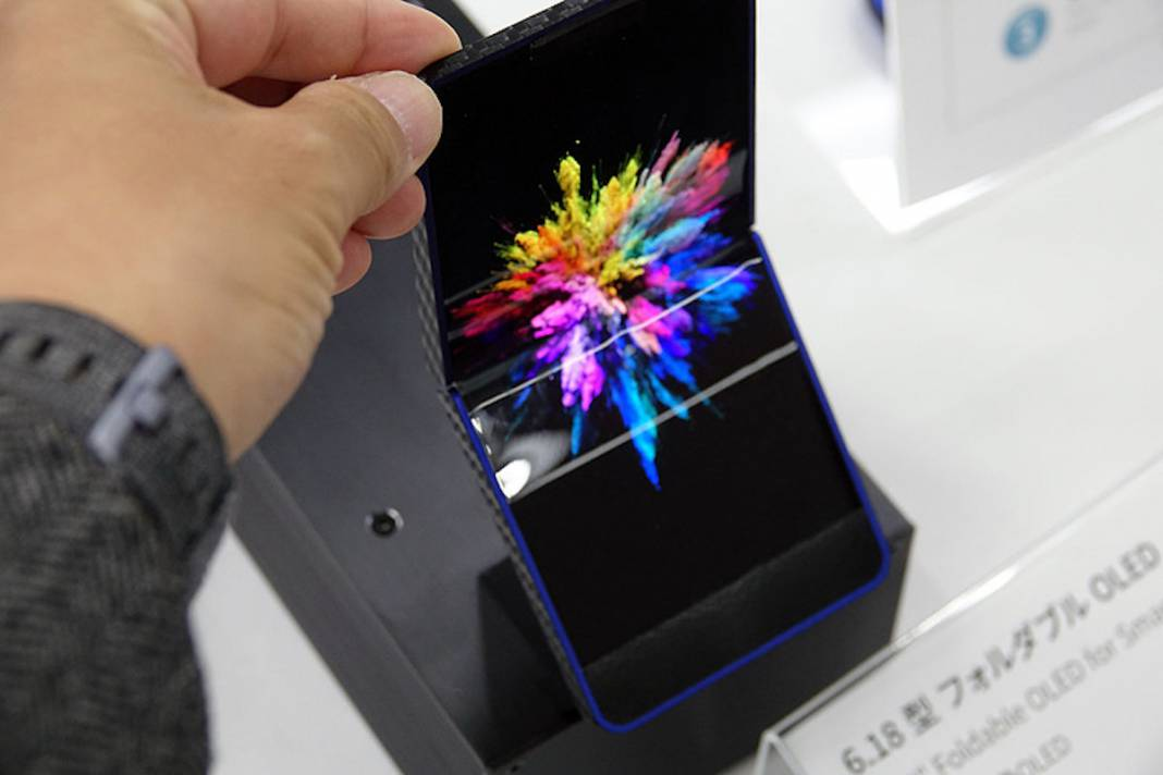Flexible OLED display from Sharp