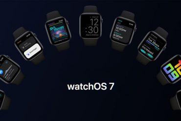 watchOS 7 extensive features list