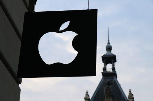 Apple Logo outside a store