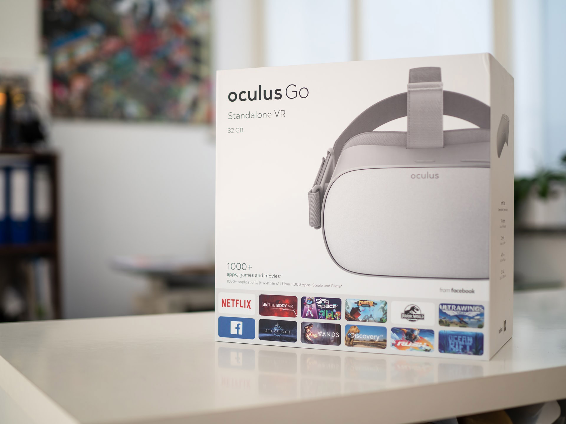 Oculus Go Portable VR Headset.