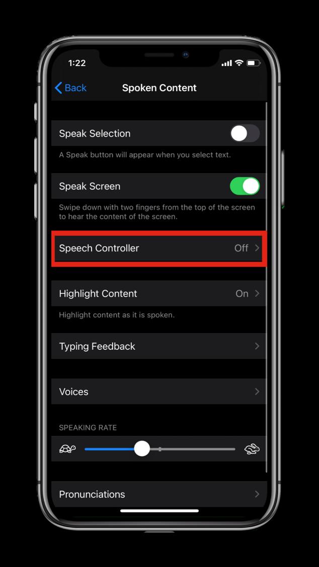Speech Controller