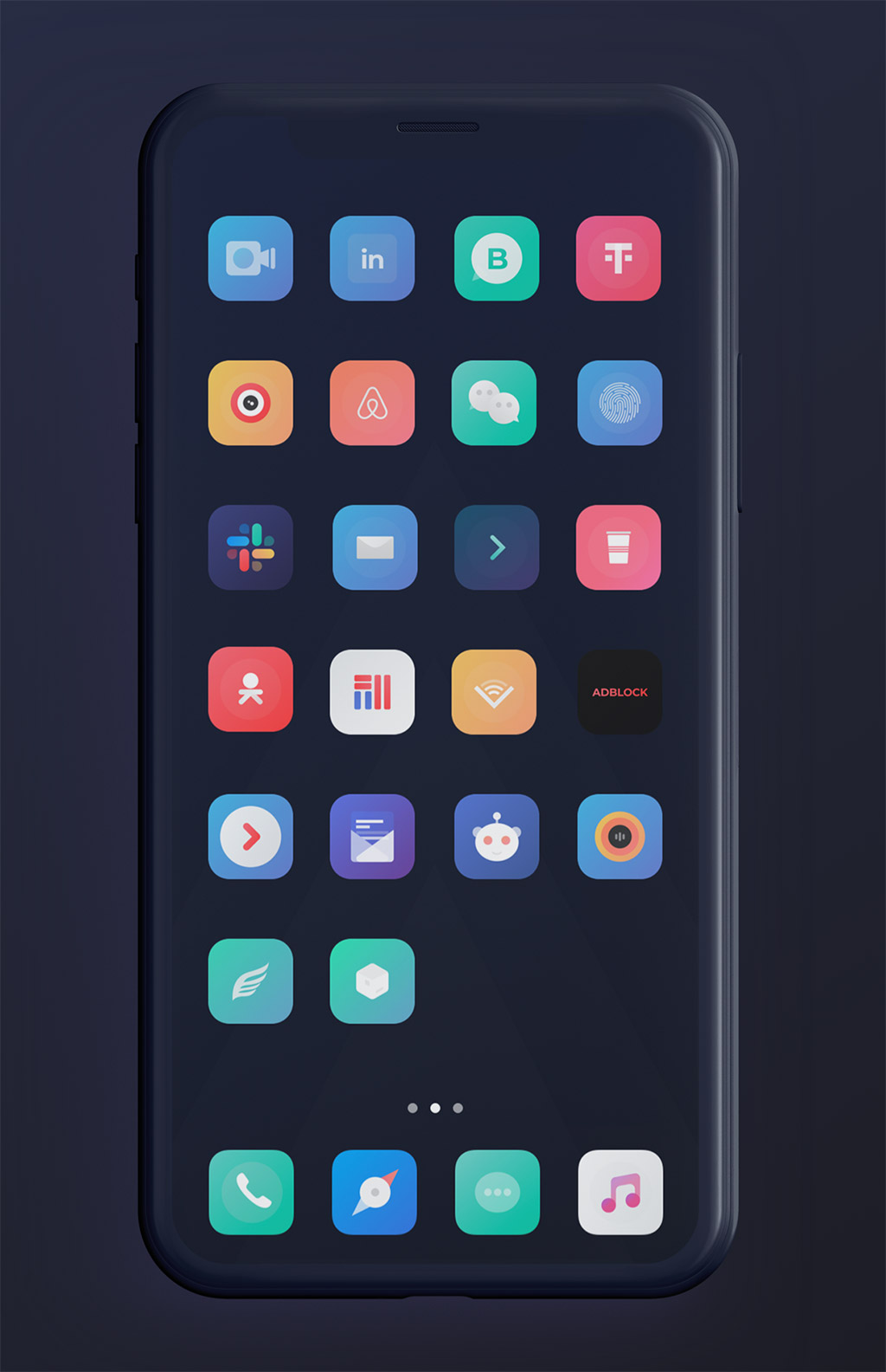 25 Lovely Ios Themes You Can Install On Ios 13 Snowboard