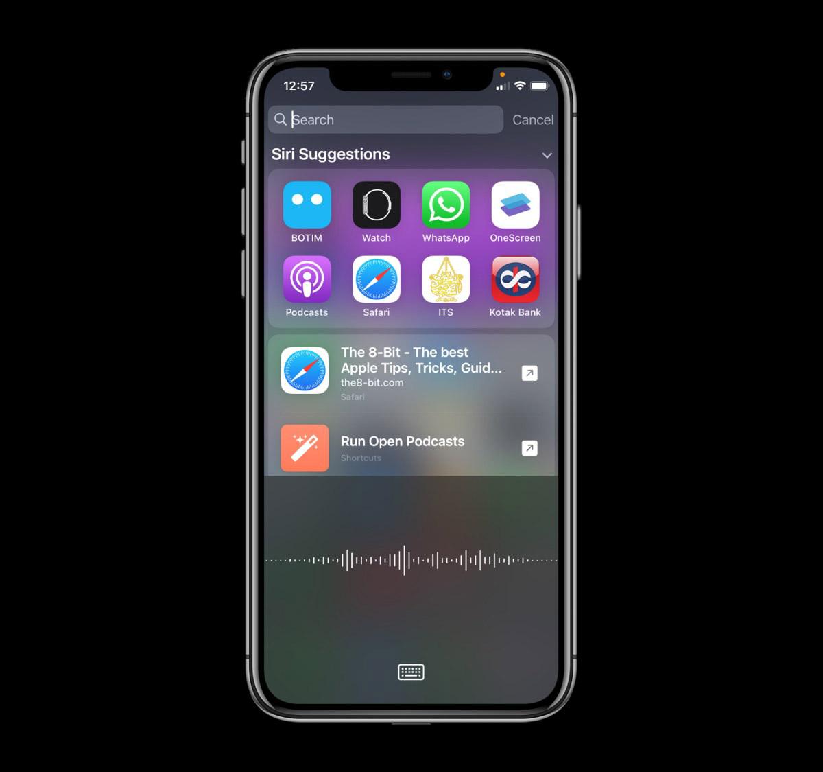 iOS 14 Dictation