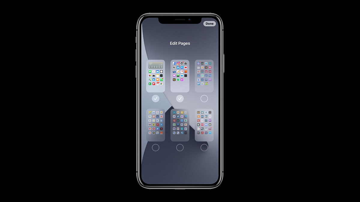 Edit Home Screens on iOS 14