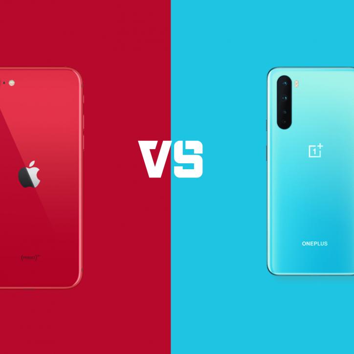 iPhone SE 2020 vs OnePlus Nord